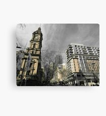 Melbourne Architecture Canvas Print