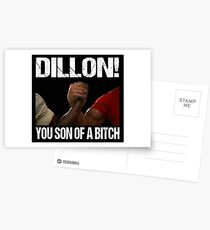 Schwarzenegger Dillon Predator Arm Wrestle  Postcards