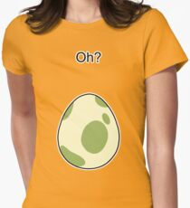 Pokemon GO Egg Oh? Womens Fitted T-Shirt