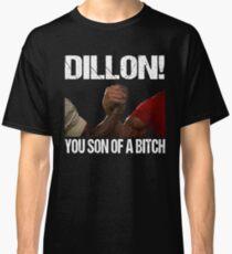 Schwarzenegger Dillon Predator Arm Wrestle  Classic T-Shirt