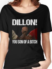 Schwarzenegger Dillon Predator Arm Wrestle  Women's Relaxed Fit T-Shirt