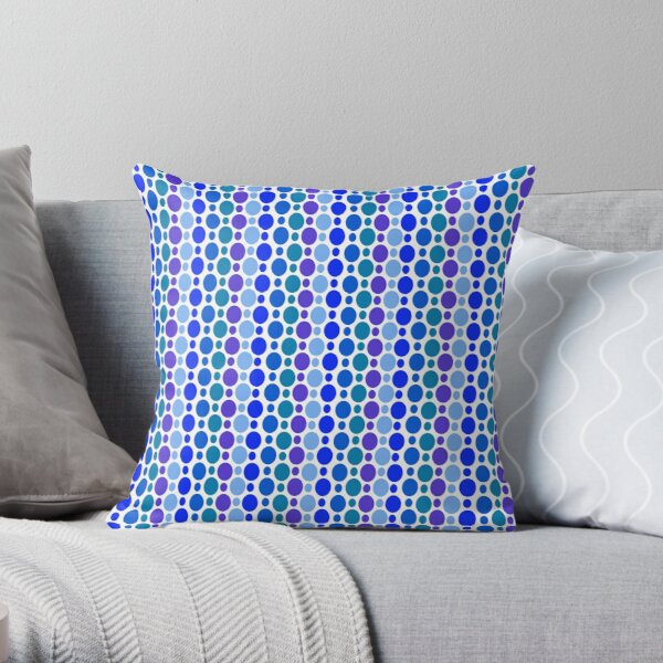 Watery Specktacle Throw Pillow