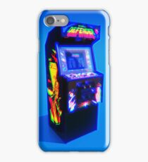 DEFENDER - 1981 ARCADE MACHINE iPhone Case/Skin