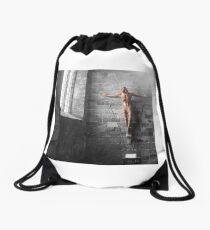 Crucifix Drawstring Bag