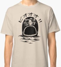 Laboon One Piece - The whale on the red line Classic T-Shirt