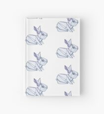 Origami Rabbit Hardcover Journal