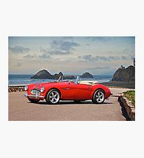 Austin V8 Healey Photographic Print