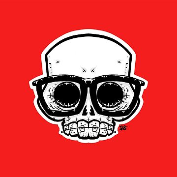 Nerd Skull by crabro