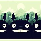 totoro by denmarkeith