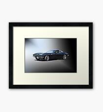 1963 'Retro' Corvette Stingray Framed Print