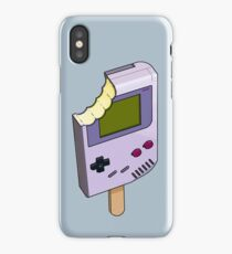 Game Boy Ice Cream iPhone Case