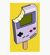Game Boy Ice Cream Photographic Print