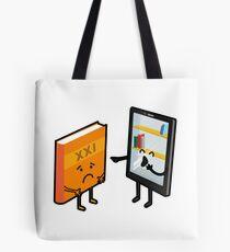 Book and e-book Tote Bag
