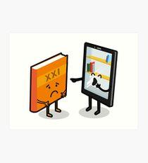 Book and e-book Art Print