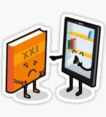 Book and e-book Sticker