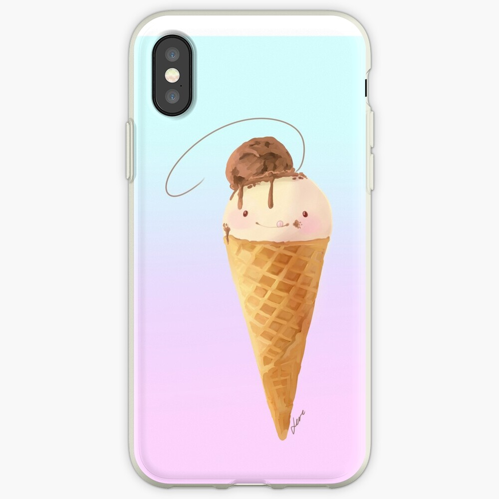 Sup-Typ-Eis iPhone-Hülle & Cover