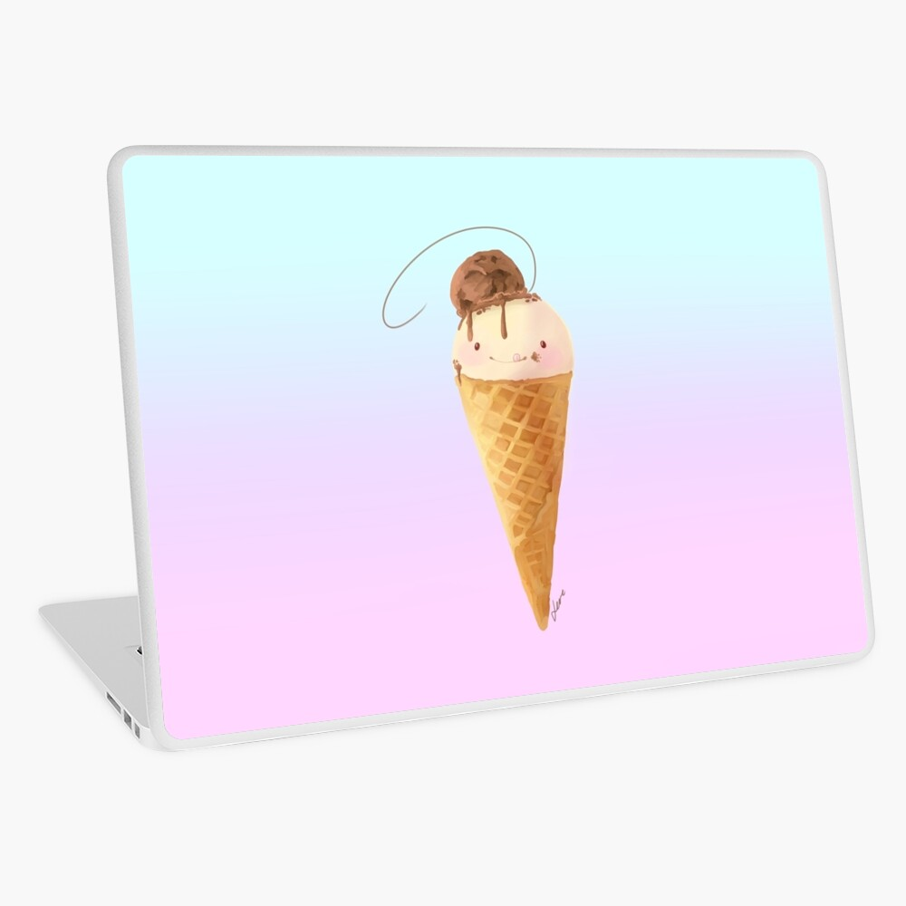 Sup-Typ-Eis Laptop Folie