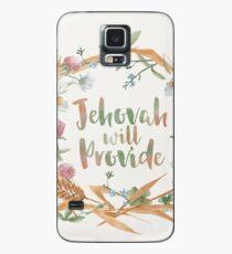 Jehova wird sorgen Hülle & Klebefolie für Samsung Galaxy