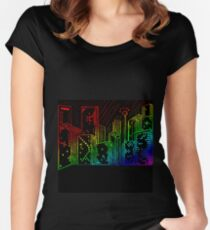 Suburb Women's Fitted Scoop T-Shirt