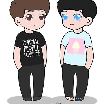 Dan And Phil by theamazingmarco