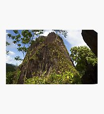 Chickenshit Mountain - Pohnpei, Micronesia Photographic Print