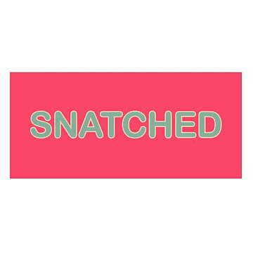 Snatched Sticker by sochaux