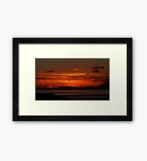 Arisaig after sundown Framed Print