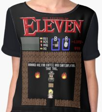 The Legend Of Eleven Women's Chiffon Top
