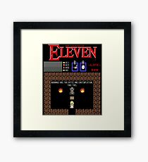 The Legend Of Eleven Framed Print