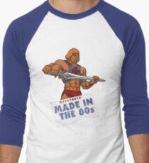 He-Man Made in the 80s Men's Baseball ¾ T-Shirt