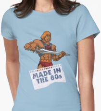 He-Man Made in the 80s Women's Fitted T-Shirt