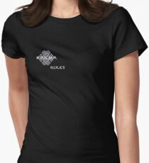 KARMA rules Women's Fitted T-Shirt