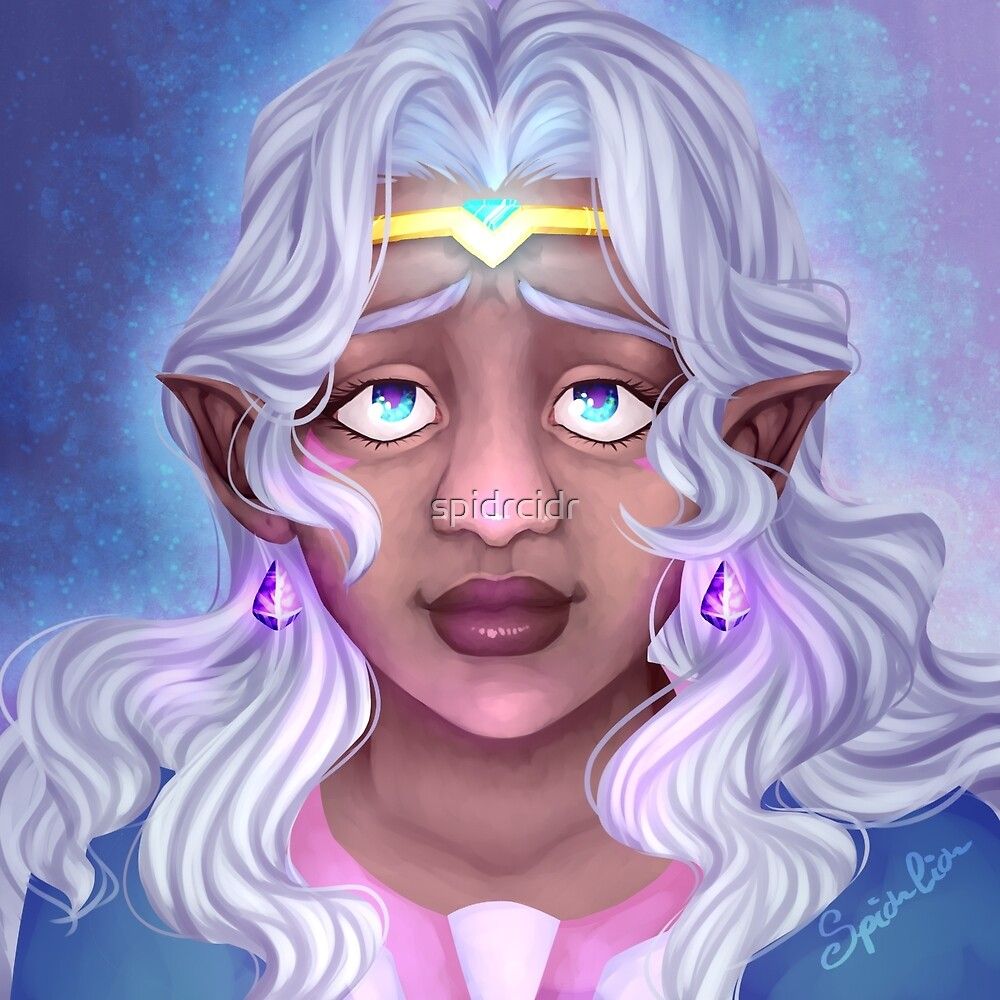 Allura (Voltron: Legendary Defender) by spidrcidr