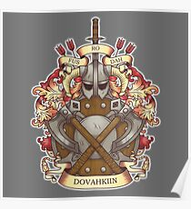 Dovah-crest Poster