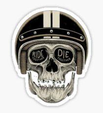 Ride Together Sticker