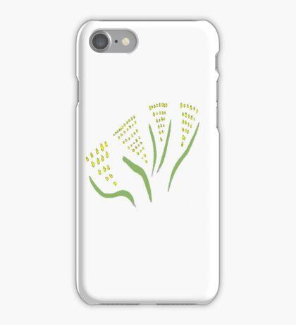 Green & Gold Bouquet for 2016  iPhone Case/Skin