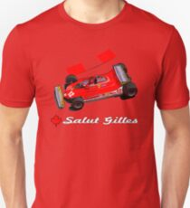 GILLES VILLENEUVE - FERRARI 312T4 (1979) T-Shirt