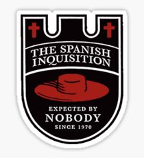 Expected By Nobody Sticker