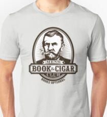 Men's Book & Cigar Club -- Books Optional T-Shirt