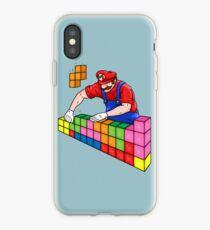 Super Mario Mason iPhone Case