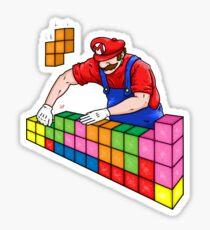 Super Mario Mason Sticker
