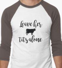 Vegan - Leave her tits alone T-Shirt