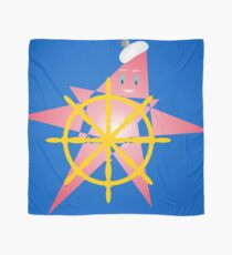 Funny Starfish at the Helm Scarf