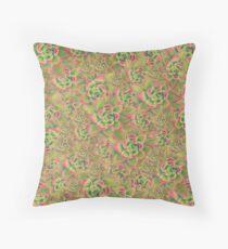 Succulent Echeveria agavoides 'Frank Reinelt' Throw Pillow
