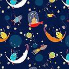 Cosmic Spacefun by mariabogade