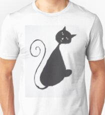 The Unhappy Cat Unisex T-Shirt