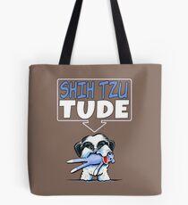 Shih Tzu Tude (Dark) Tote Bag