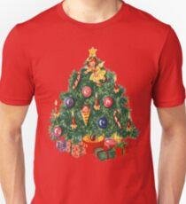 Ugly Christmas Sweater Retro Christmas Tree T-Shirt