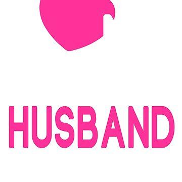 I Love My Tattooed Husband T-Shirt by johnnydany