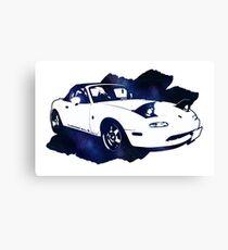 Eunos Roadster (Mazda MX5,Miata) Canvas Print